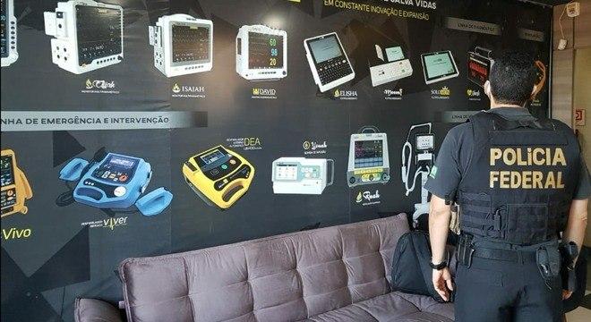 Polícia Federal combate fraudes no uso de recursos para covid-19