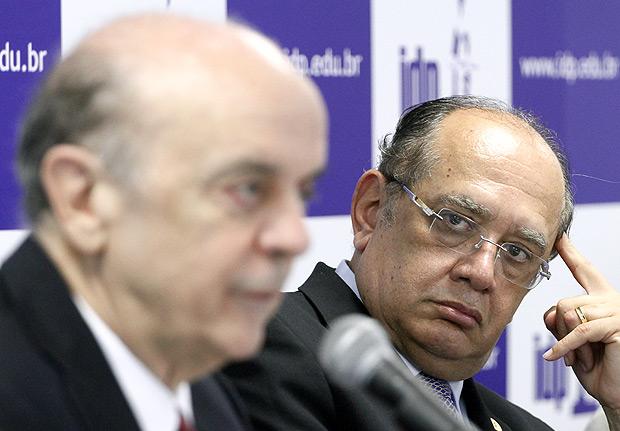 Gilmar Mendes suspende ação penal contra José Serra na Lava Jato