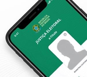 E-Título com foto do eleitor pode ser usado como documento oficial para votar