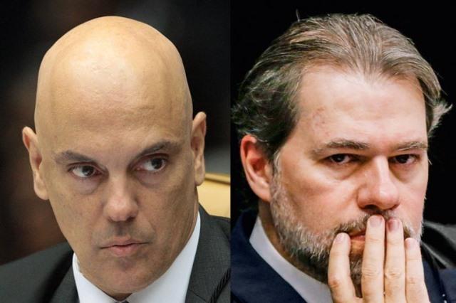 Toffoli e Moraes seguem Gilmar por reeleição na Câmara e Senado