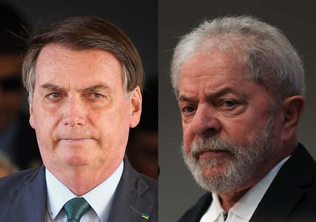 Bolsonaro diz que vota em Lula, mas não vota em Doria de jeito nenhum