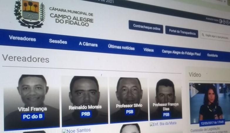 MP entra com ação contra Câmara de Vereadores por desatualização no portal da transparência
