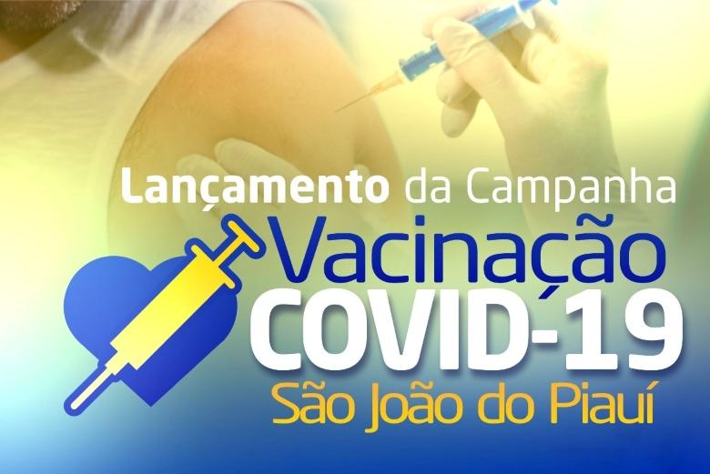 São João do Piauí inicia vacinação contra covid amanhã, dia 20