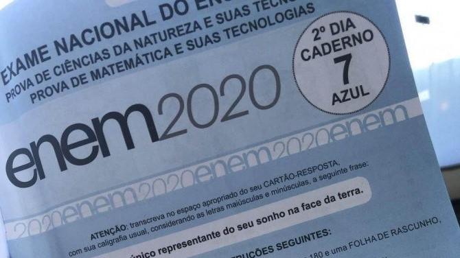 Inep divulga gabarito oficial do Exame Nacional do Ensino Médio 2020