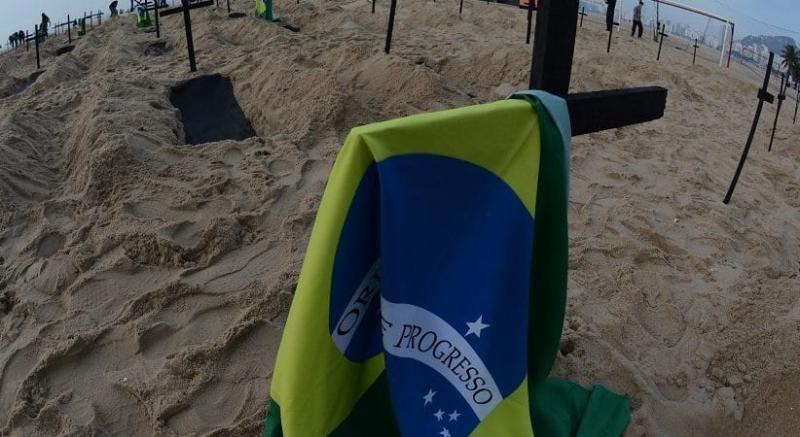 Brasil registra novo recorde diário de mortes por covid: 3.251