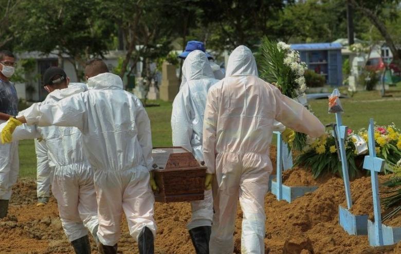 Em novo recorde, Brasil registra 4.195 mortes por covid em 24h