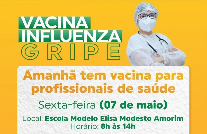 Saúde do município realiza mais uma etapa vacinação contra a Influenza