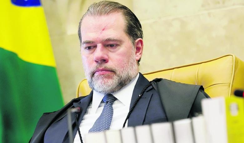 PF pede ao STF abertura de inquérito para investigar o ministro Dias Toffoli