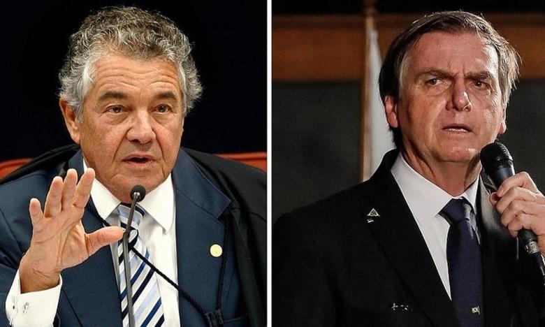 STF decide que Marco Aurélio deve analisar queixa-crime contra Bolsonaro