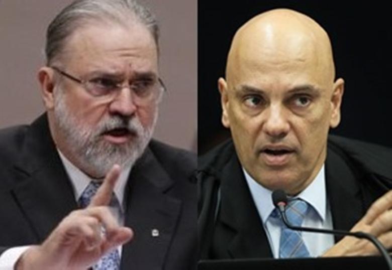 Após pedido de Aras, Moraes se nega a deixar inquérito contra Salles