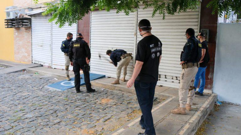 PC-PI e Gaeco realizam operação contra organização criminosa nesta manhã