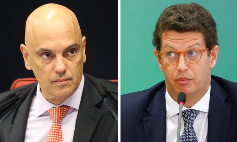 Moraes pede que PGR se manifeste sobre pedido de saída e prisão de Salles