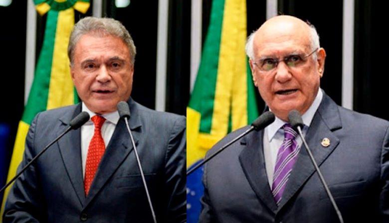 Álvaro Dias e Lasier Martins se reúnem com Lira para cobrar fim do foro privilegiado
