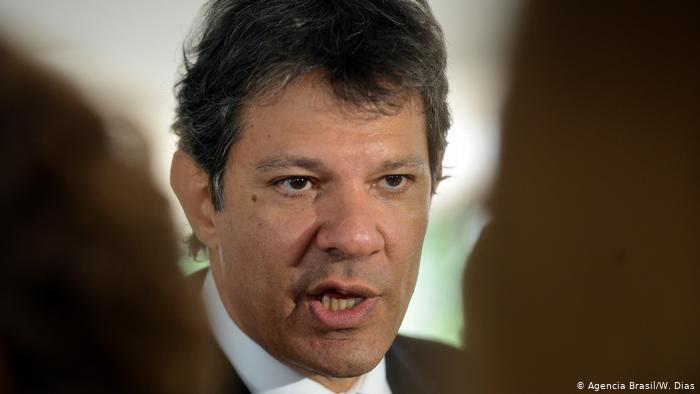 Haddad chama Bolsonaro de verme e diz que Doria deveria pautar impeachment no PSDB