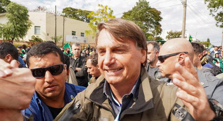 Presidente Jair Bolsonaro dispara: 'temos uma CPI de sete pilantras'