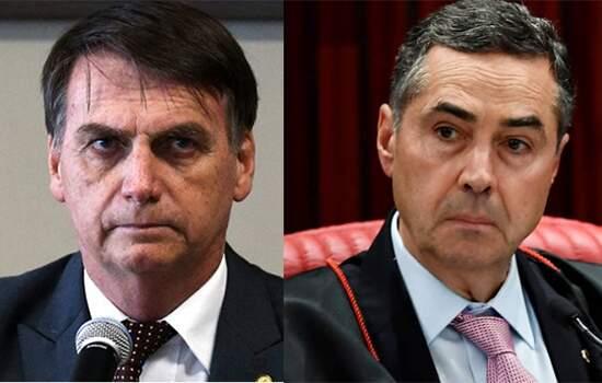 Bolsonaro ataca Barroso e diz que sem voto impresso terá problema