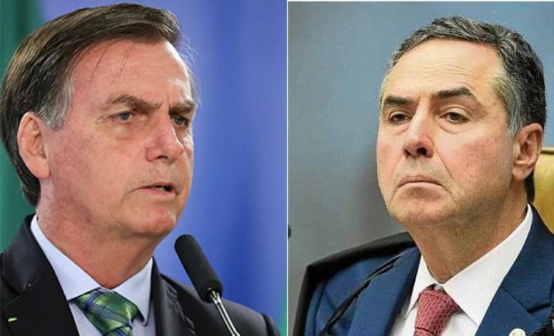 Barroso reage a Bolsonaro: 'Eleição vai haver; eu garanto'