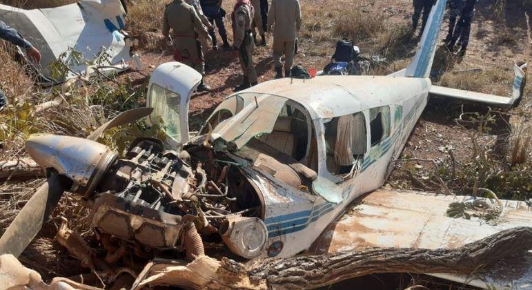 Aeronave cai e deixa feridos no interior de Mato Grosso