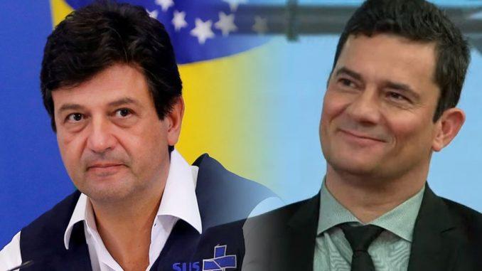 Moro e Mandetta já foram os homens de confiança de Bolsonaro